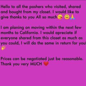 Other - 🙏❤Help Share My Closet 🌠😘